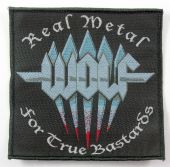 Wolf - 'Real Metal for True Bastards' Woven Patch